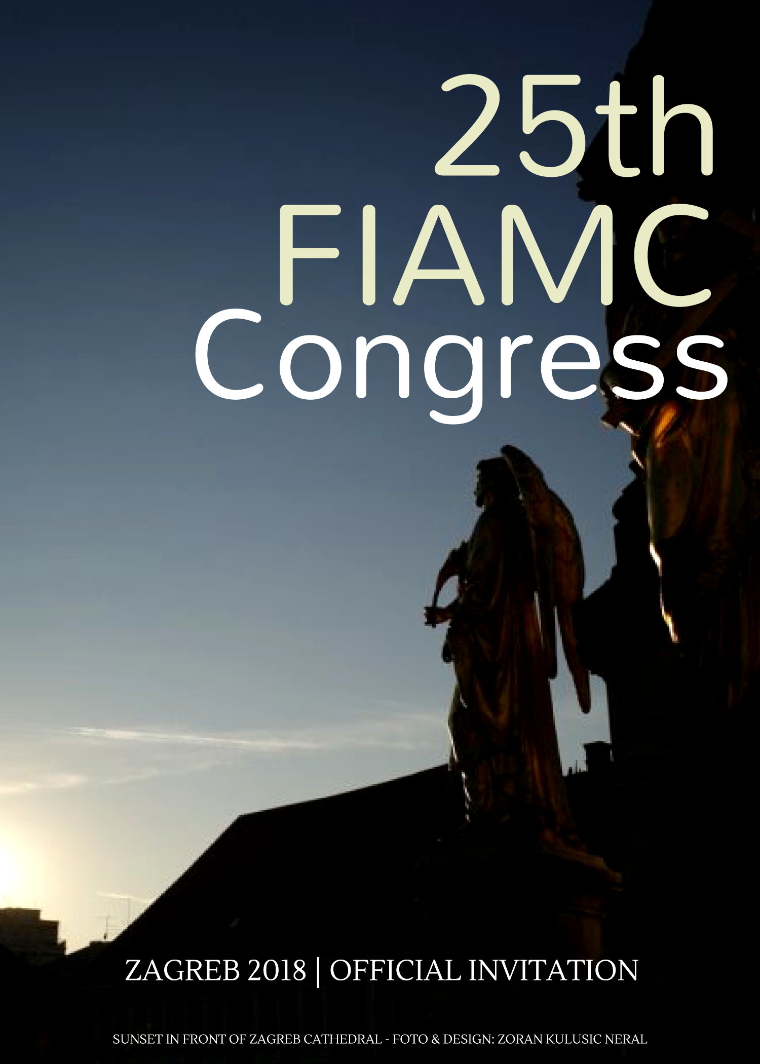 Pozivnica 25th FIAMC Congress 1
